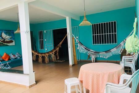 Casa de praia em Ilhéus,  praia de Olivença, BA