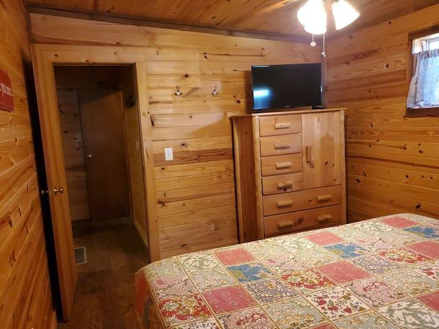 Bedroom #1 TV/DVD player