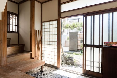 60 years old traditional Japanese wooden house - House