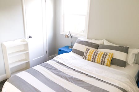Clean and Bright Sugarhouse Room with City Access - Salt Lake City