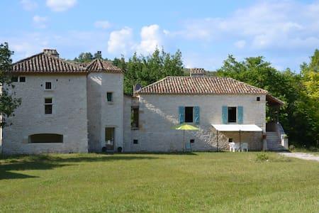 Demeure de caractère, 7 pièces - Saint-Pantaléon - Natur-Lodge