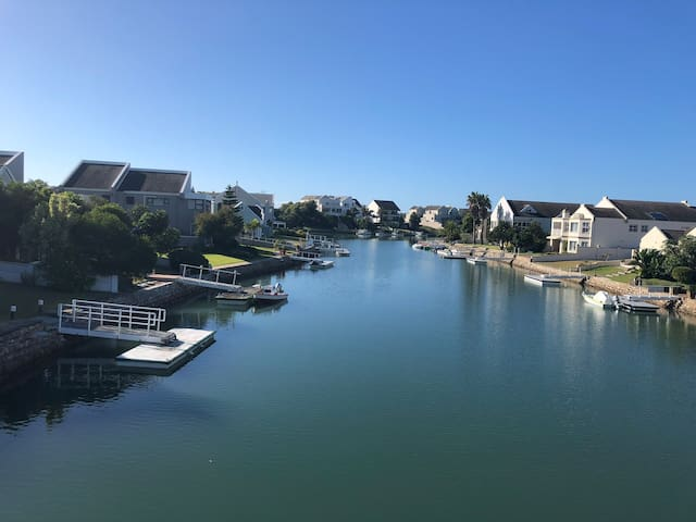 Wake up to paradise on the Marina