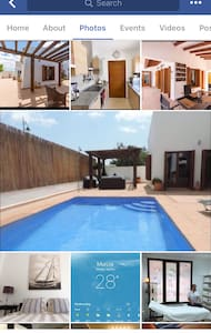 Luxe El Valle Villa, 3 bed 2 bath with own pool - Murcia