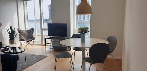 Modern apartment at the harbour in Copenhagen