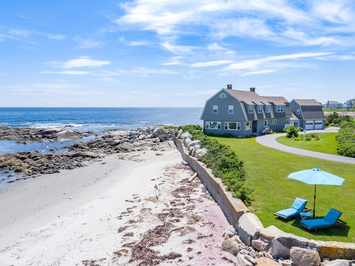 Oceanfront with Miles of Sandy Beach , Kport near