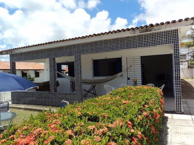 Casa Praia de Serrambi, curta como antigamente !