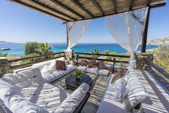 Amazing Villa Aphrodite Mykonos - Agios Ioannis Diakoftis - House
