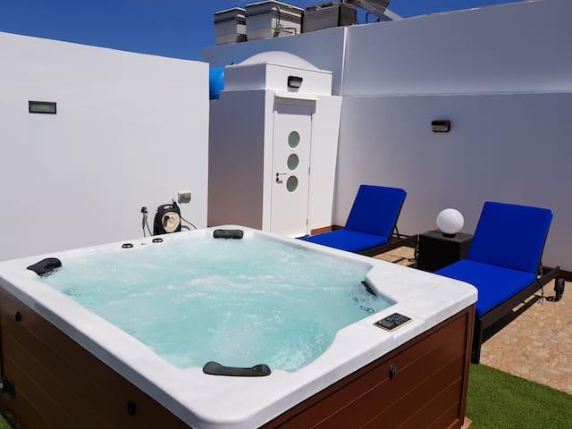 Maravillosa vivienda familiar con jacuzzi y sauna
