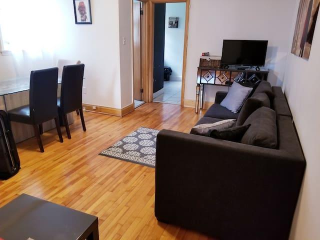 Charmant appartement à 10 minutes de vieux Québec