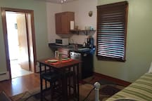 Kitchenette and Sitting Room