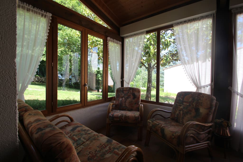 Veranda privée