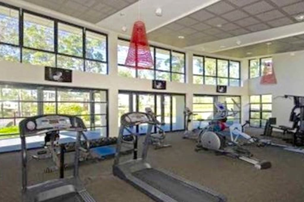 Access to gym.