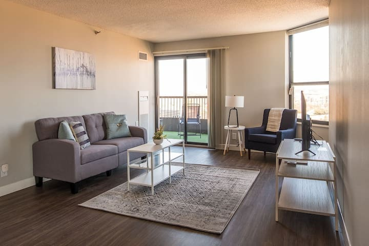 Renovated 1BR Apt near the Mississippi River
