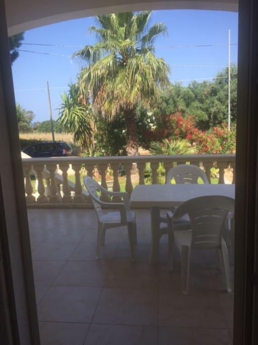 particolare veranda