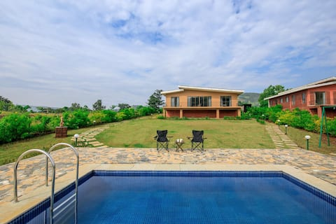 Shivom 6 - 3BHK Villa with Valley & Lake View