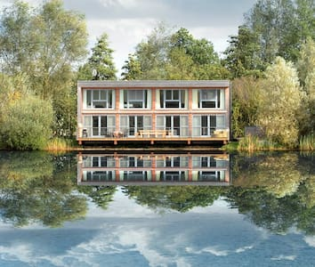 Swan Lodge at Lakes by Yoo/ 8 adults + 2 kids/spa - Gloucestershire - Dům
