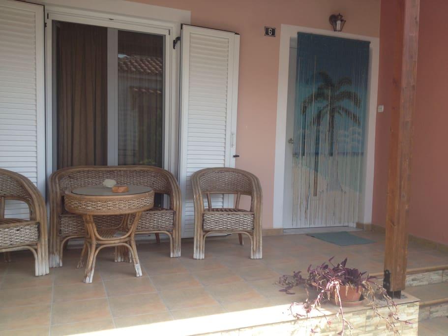 Η βεράντα μας-Our terrace