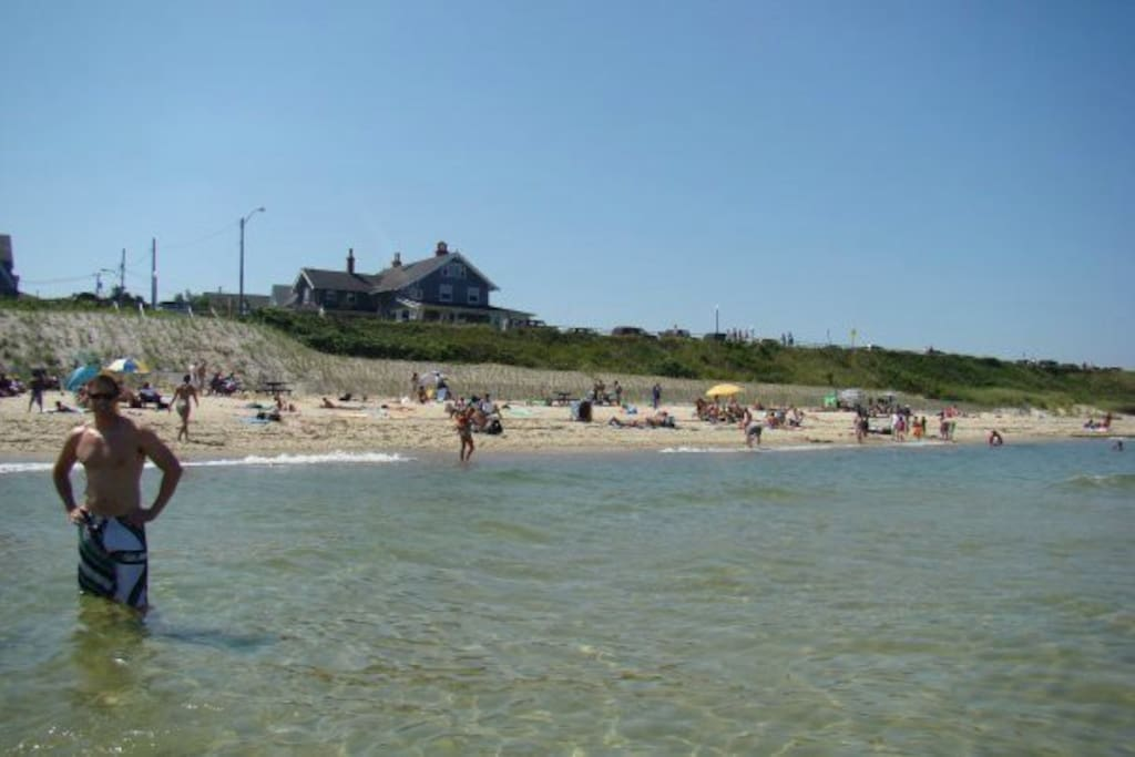 View of house from the Inkwell beach