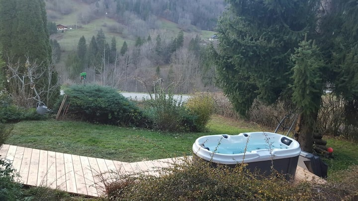 Appartement avec Jaccuzzi privatif vue imprenable