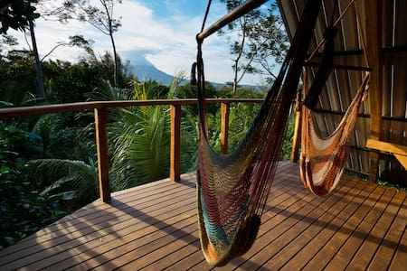 Luxury Suite w/Volcano View - Jungle House - Balgüe - เกสต์เฮาส์