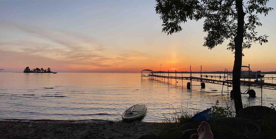 Cozy Cabin on Sunset Bay - Mille Lacs Lake