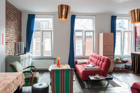Cosy and central apartment - Saint-Gilles - อพาร์ทเมนท์
