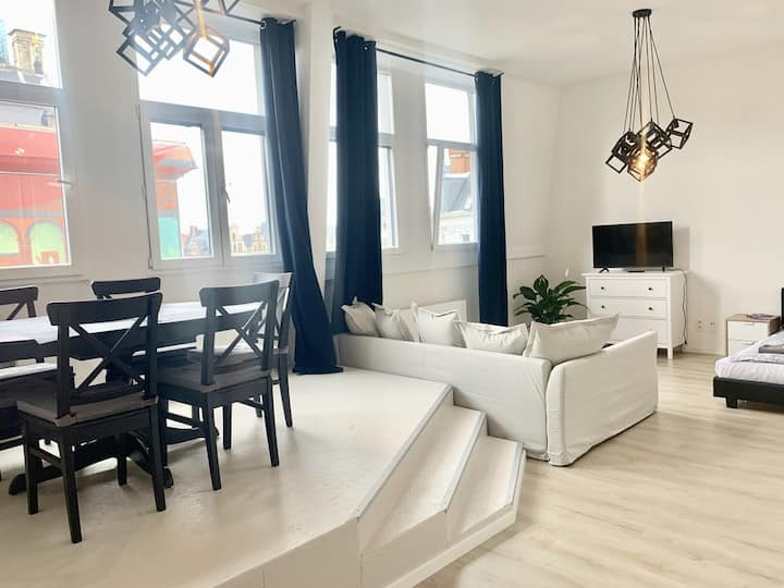 Grotemarkt - Penthouse (max6 persons)