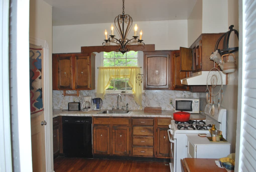 Full use kitchen. Help yourself!