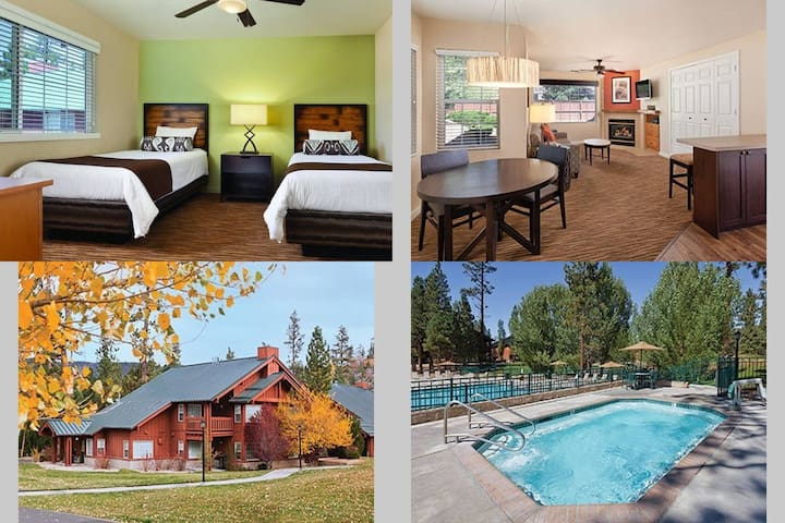 2 Bedroom Twin Wyndham Big Bear, CA - Big Bear Lake - Leilighet
