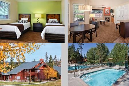 2 Bedroom Twin Wyndham Big Bear, CA - Big Bear Lake - Apartament