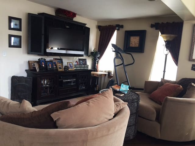 TV room off of kitchen