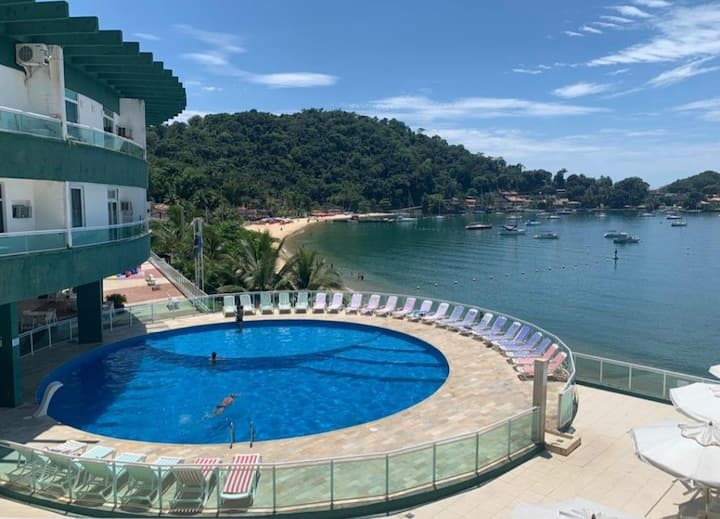 Studio Flat Angra Inn. Angra dos Reis. Beira-mar.
