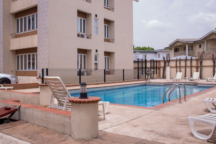 TOMDAVS elegant serviced apartments in Ikeja