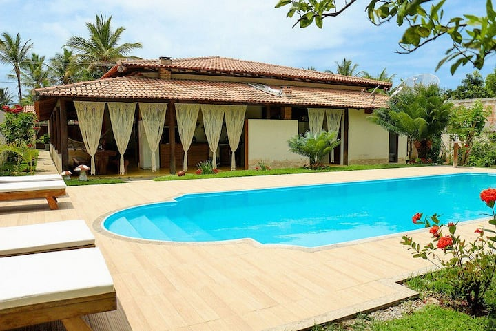 Bah850 - House with pool for 14 guests in Trancoso