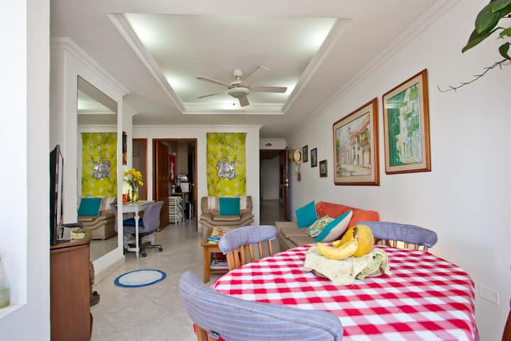 Exciting Cartagena.1 bedroom apartment.