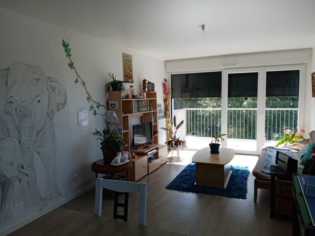 Appartement lumineux proche plage et commodités