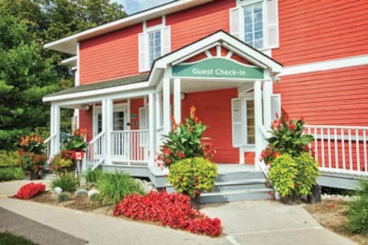 Carriage Ridge Resort Studio kitchenette.
