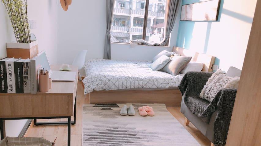 整租|酒店式公寓|一个月起租|家电齐全拎包入住虹桥商务区 长租可优惠