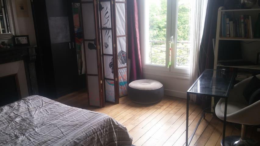chambre dans belle maison été à Poissy