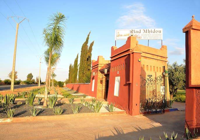 """""""Riad Mhidou"""" Main Entrance"""