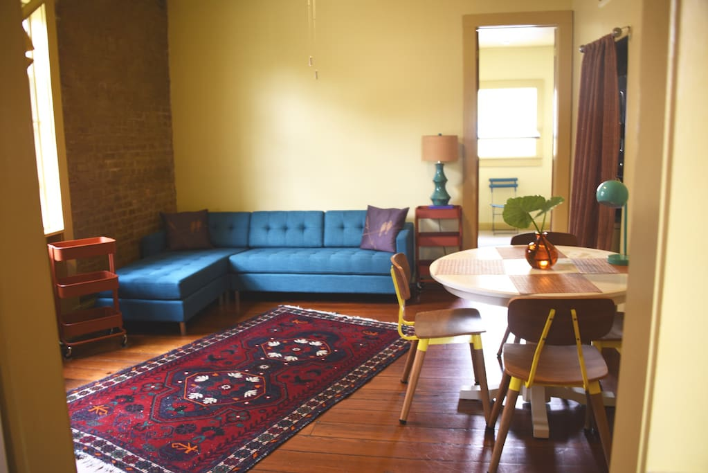 Charming 1 bedroom hideaway in treme cottage apartments - 1 bedroom houses for rent in new orleans ...