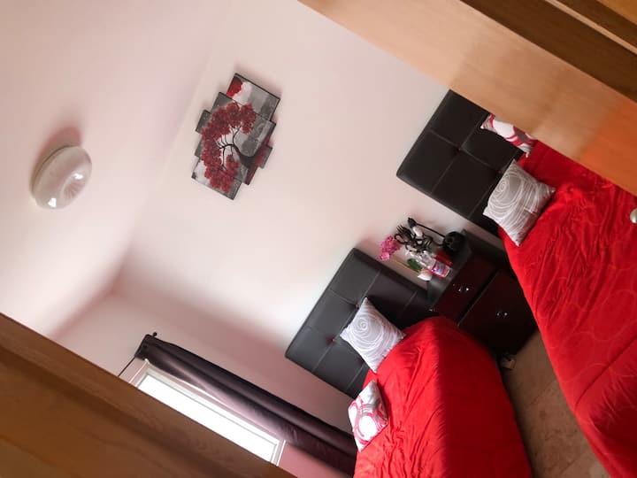 Room close to the airport,Foro Sol,Palacio Deporte