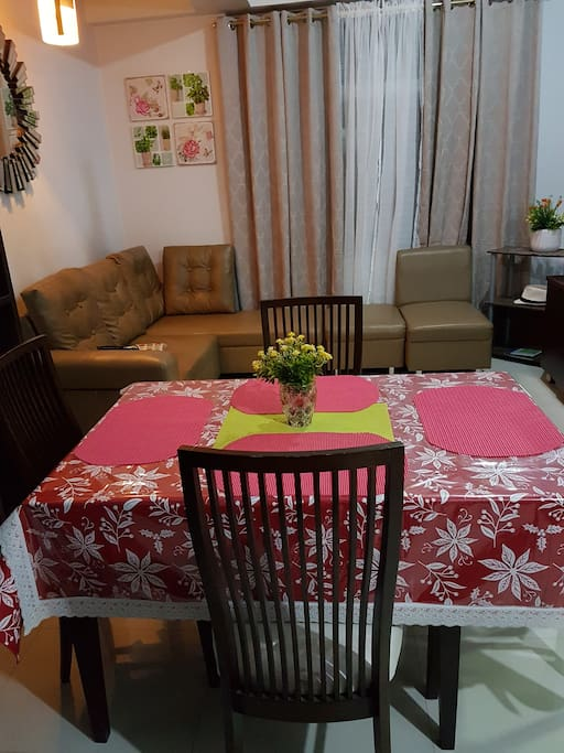 dining and livingnroom