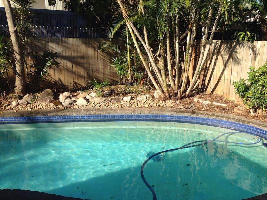 Beautiful salt water pool