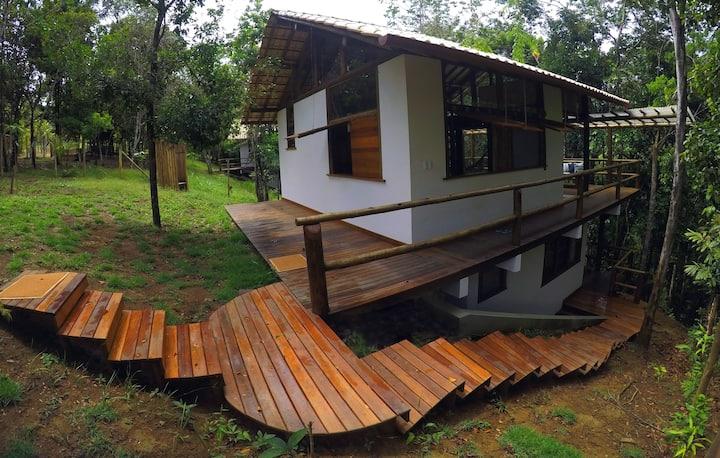 Casa Cedro-Branco, Floresta de Jeribucaçu/Itacaré