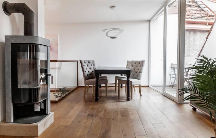 Penthouse Suite mit Uhrturmblick - Sporgasse Top 5