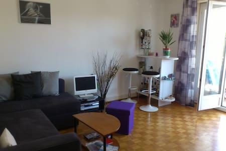 Sympathique chambre au centre ville de Morges - Apartment