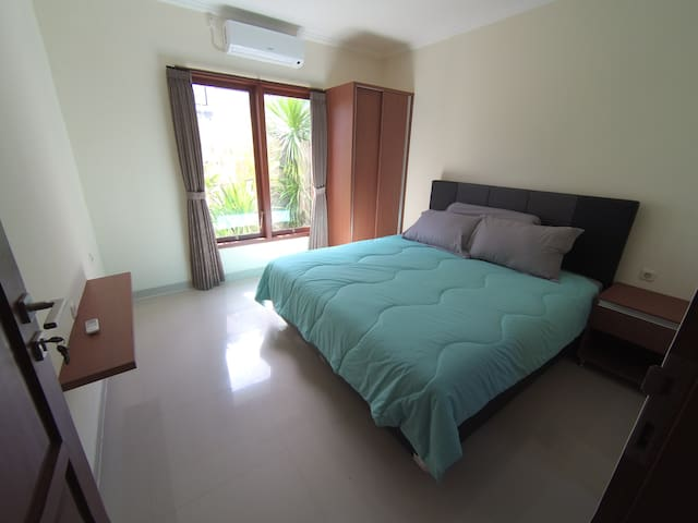 Double room in a modern new house south Bali #2