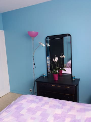 Chambre ''cosy'' dans résidence sécurisée