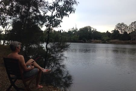Riverside picnics from this comfortable unit - Upper Coomera